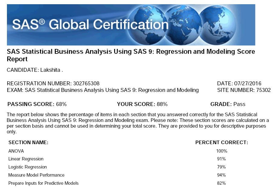 how to pass sas base certification