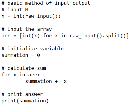 Input Methods for Competitive Programming in Python for Data Science