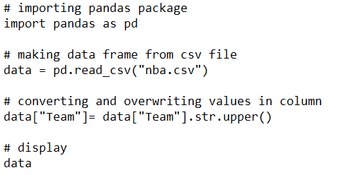Working With Text Data in Pandas Python for Data Science - PST Analytics